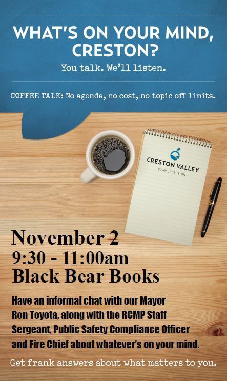 nov 2 coffee talk