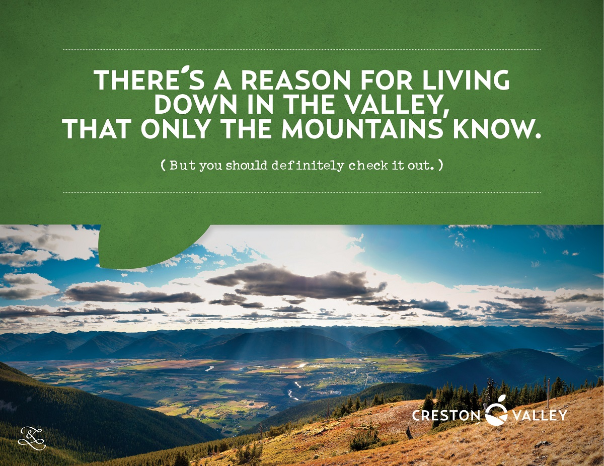 Creston Valley Slogan